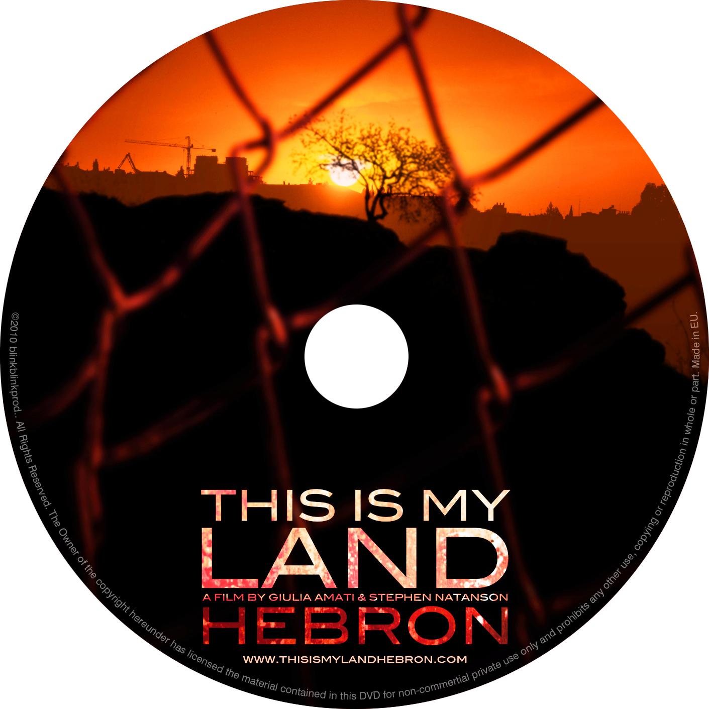 Hebron Dvd disk