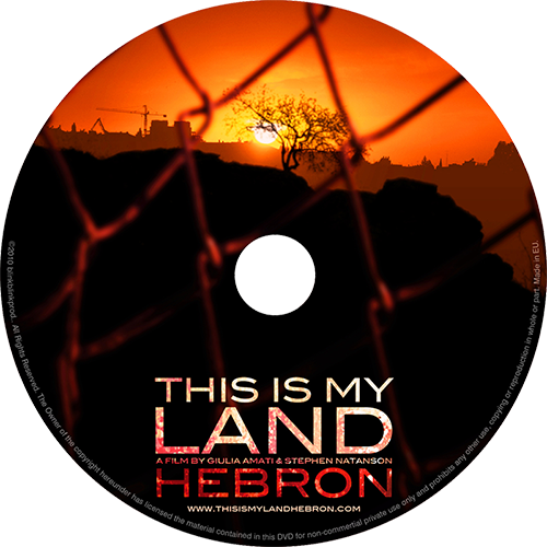 THIS IS MY LAND… HEBRON DVD