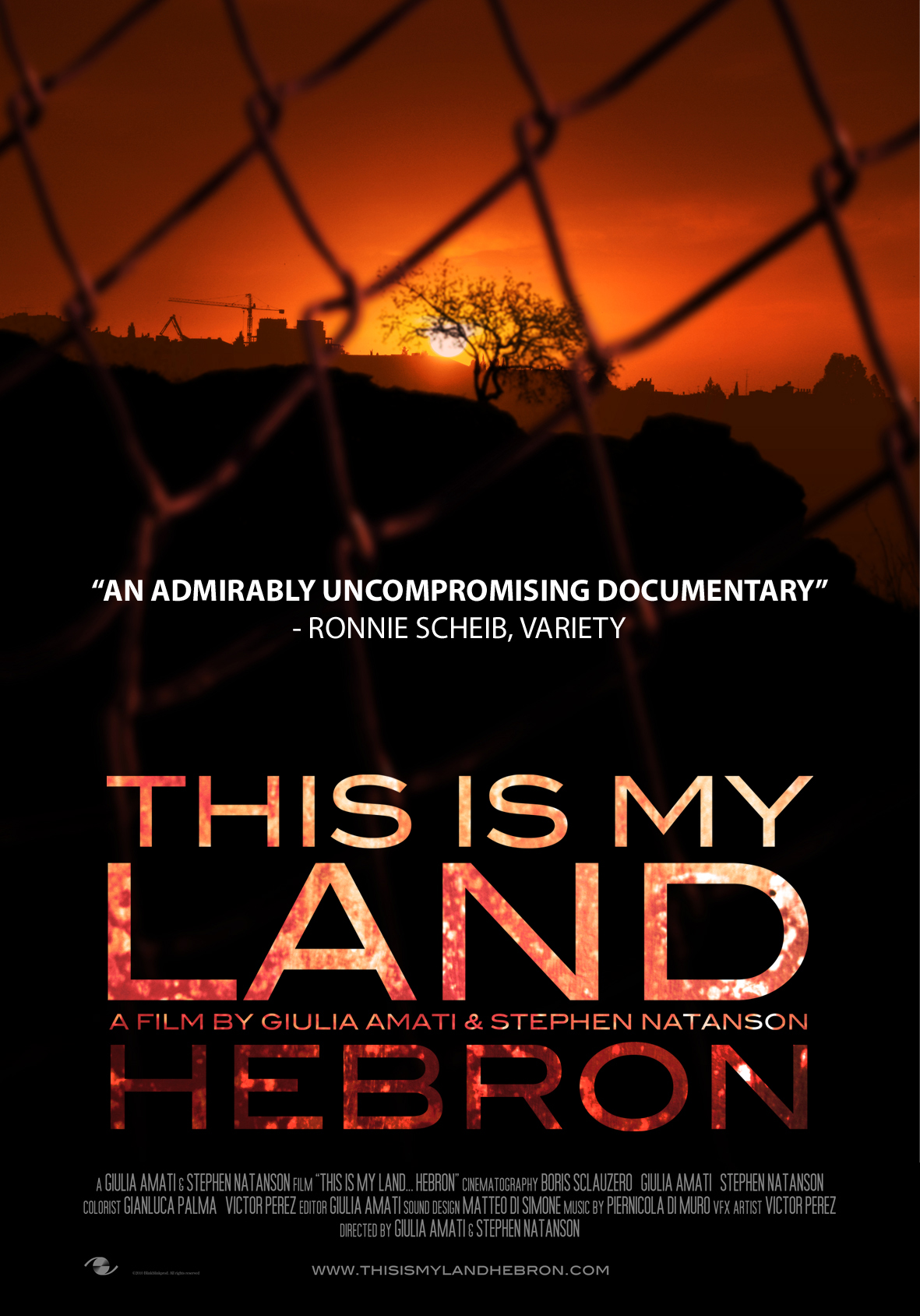 THIS IS MY LAND… HEBRON on demand