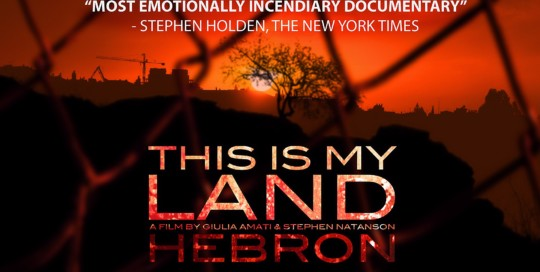 THIS IS MY LAND HEBRON